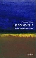 Hieroglyphs Very Short Introduction