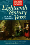 New Oxford Book Of Eighteenth Century Ve