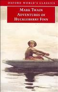 Adventures of Huckleberry Finn (Oxford World's Classics) Cover