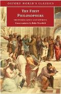 First Philosophers The Presocratics & Sophists