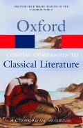 The Concise Oxford Companion to Classical Literature (Oxford Paperback Reference) Cover