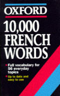 10,000 French words