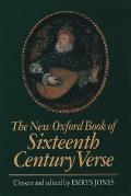 New Oxford Book Of Sixteenth Century Ver