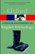 The Concise Oxford Dictionary of English Etymology (Oxford Paperback Reference)