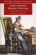 Early Modern Womens Writing An Anthology 1560 1700