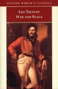 War and Peace (World's Classics) Cover