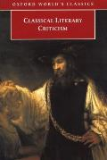 Classical Literary Criticism (Oxford World's Classics) Cover