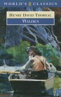 Walden (Oxford World's Classics) Cover