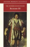 Richard III Oxford Worlds Classics