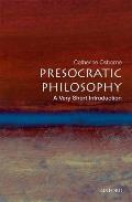 Presocratic Philosophy : Very Short Introduction (04 Edition)