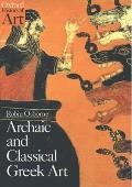 Archaic and Classical Greek Art (Oxford History of Art) Cover