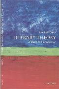 Very Short Introductions #4: Literary Theory: A Very Short Introduction Cover