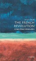 Very Short Introductions #54: The French Revolution: A Very Short Introduction Cover