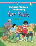 The Oxford Picture Dictionary for Kids: Monolingual English (Oxford Picture Dictionary Series) Cover