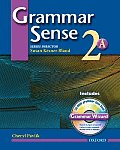Grammar Sense 2a - With Wizard CD (04 Edition)
