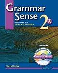 Grammar Sense 2a - With Wizard CD (04 Edition)
