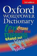 Oxford Wordpower Dictionary English. Wörterbuch. New Edition