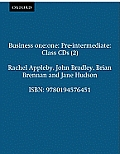 Business One: One Pre-Intermediate Class Audio CDs: Comes with 2 CDs Class CDs (2)