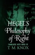 Philosophy of Right Cover