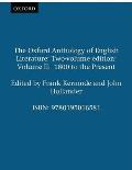 Oxford Anthology of English Literature Volume 2 1800 to the Present