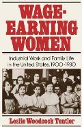 Wage Earning Women Industrial Work & Family Life in the United States 1900 1930
