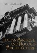 Italian Baroque and Rococo Architecture (86 Edition) Cover