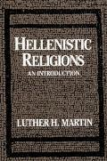 Hellenistic Religions An Introduction