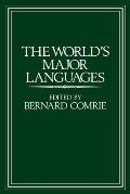 The World's Major Languages Cover