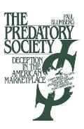 Predatory Society : Deception in the American Marketplace (89 Edition) Cover