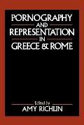 Pornography & Representation in Greece & Rome