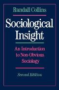 Sociological Insight An Introduction to Non Obvious Sociology