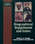 Young Oxford History of African Americans #11: Biographical Supplement and Index