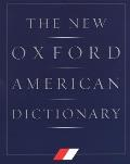 The New Oxford American Dictionary Cover