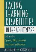 Facing Learning Disabilities In The Adul