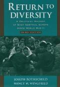 Return to Diversity A Political History 3rd Edition