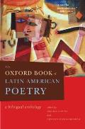 The Oxford Book of Latin American Poetry: A Bilingual Anthology Cover