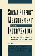 Social Support Measurement and...