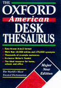 Oxford American Desk Thesaurus