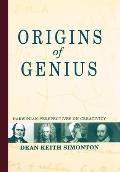 Origins of Genius: Darwinian Perspectives on Creativity Cover