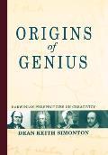 Origins of Genius Darwinian Perspectives on Creativity