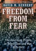 Oxford History of the United States #9: Freedom from Fear: The American People in Depression and War, 1929-1945 Cover