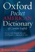 Pocket Oxford American Dictionary of Current English