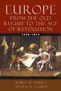 Europe 1648 1815 From the Old Regime to the Age of Revolution