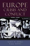 Europe 1890 1945 Crisis & Conflict