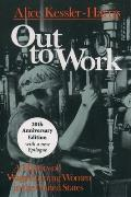 Out to Work: A History of Wage-Earning Women in the United States Cover