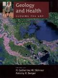 Geology and Health: Closing the Gap