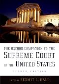Oxford Companion To the Supreme Court of the United States (2ND 05 Edition)