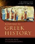 Readings in Greek History: Sources and Interpretations (07 - Old Edition)