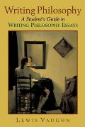Writing Philosophy A Students Guide to Writing Philosophy Essays