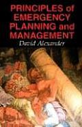 Principles of Emergency Planning & Management